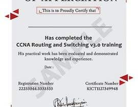 #33 for Training Certificate Design af DhanvirArt