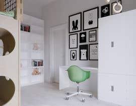 #16 untuk Interior design - Kids bedroom/playroom oleh PatriciaHeras