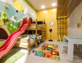 #33 untuk Interior design - Kids bedroom/playroom oleh Deyannn