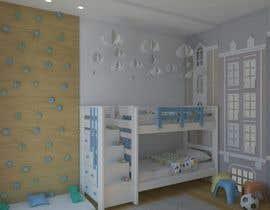 #35 untuk Interior design - Kids bedroom/playroom oleh FuRuS