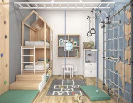 #19 untuk Interior design - Kids bedroom/playroom oleh salamonzsolt