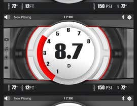 #20 for Automotive Dashboard Background by Watfa3D