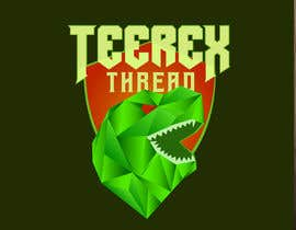 #61 untuk TeeRex Threads - Logo Design - Low Poly Art oleh deviantwolf