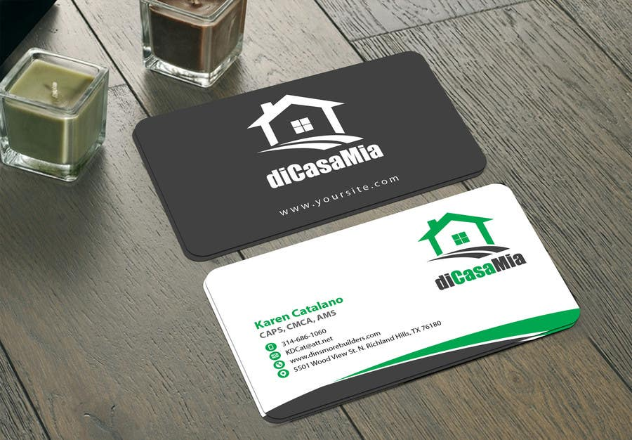 Entry By Mamun For Design Logo And Business Card For A Home - Home remodeling business cards