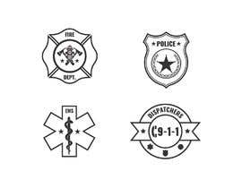 #7 cho Vector Art for First Responder Professions (Fire, EMS, Police, 911 Dispatchers) bởi sudhalottos