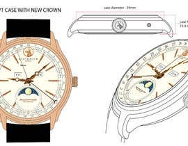 nº 33 pour WATCH DESIGN SCRATCH / ILLUSTRATION - HIGH QUALITY No.2 par AffendyIlias