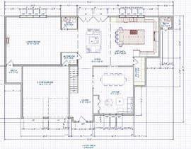 #26 for design 1st floor floor plan by dongmei1993