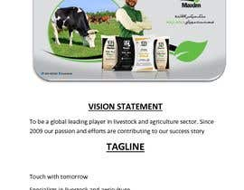 #22 untuk Develop a Vision Statement & a Tagline for an Agri Company oleh M2Sales