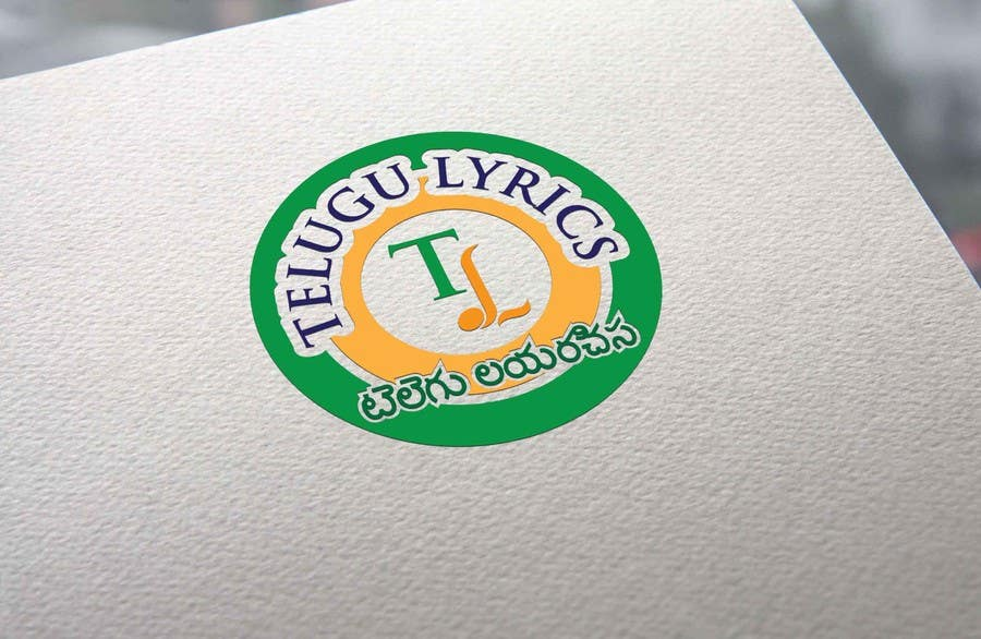 """Inscrição nº                                         23                                      do Concurso para                                         Design a Logo for Telugu Music Portal with Primary focus on """"Telugu Lyrics"""""""