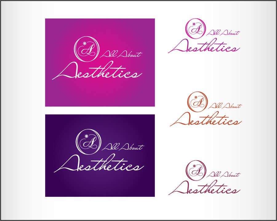 Proposition n°                                        27                                      du concours                                         Logo Design for All About Aesthetics