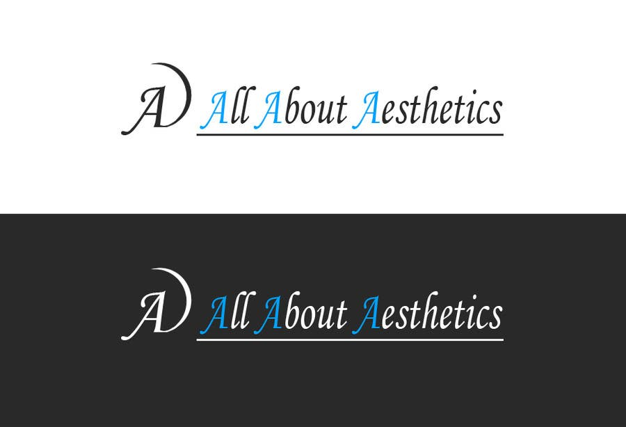 Proposition n°                                        105                                      du concours                                         Logo Design for All About Aesthetics