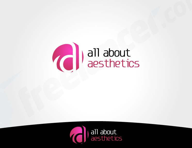 Proposition n°                                        32                                      du concours                                         Logo Design for All About Aesthetics
