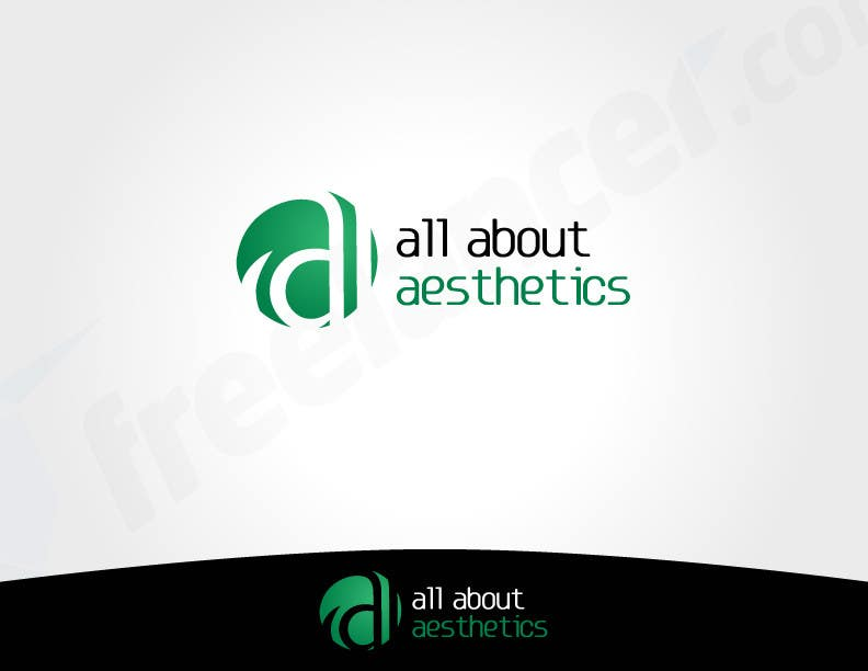 Proposition n°                                        25                                      du concours                                         Logo Design for All About Aesthetics