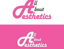 #8 para Logo Design for All About Aesthetics por Opacity