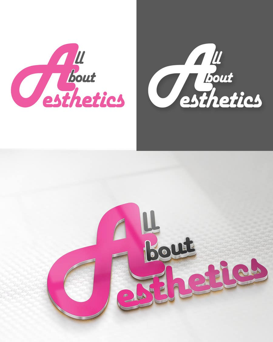 Inscrição nº                                         73                                      do Concurso para                                         Logo Design for All About Aesthetics