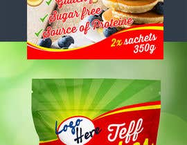 #35 for Create Packaging Design for Stand Pouch for TEFF PANCAKES by dabanzz