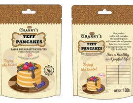 #8 for Create Packaging Design for Stand Pouch for TEFF PANCAKES by Raja1407