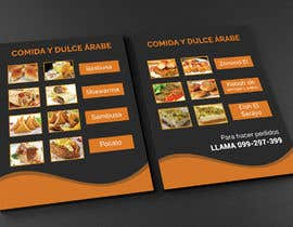Nro 60 kilpailuun Design a Flyer (Food Menu) käyttäjältä juwel786