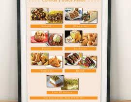 Nro 9 kilpailuun Design a Flyer (Food Menu) käyttäjältä aminnahida12