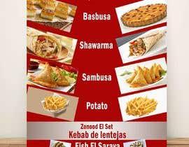Nro 6 kilpailuun Design a Flyer (Food Menu) käyttäjältä AhmadMuhamed