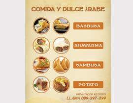 Nro 44 kilpailuun Design a Flyer (Food Menu) käyttäjältä bdKingSquad