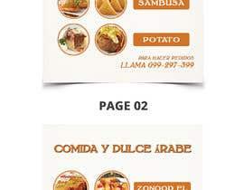 Nro 57 kilpailuun Design a Flyer (Food Menu) käyttäjältä bdKingSquad