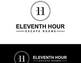 #495 for Design a logo for Eleventh Hour Escape Rooms by alamdesign