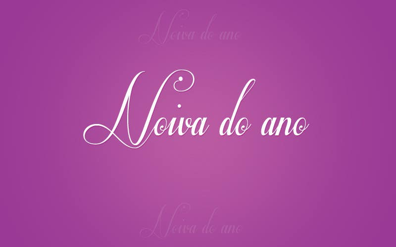 Конкурсная заявка №2 для Logo Design for Noiva do ano (Bride of the year)