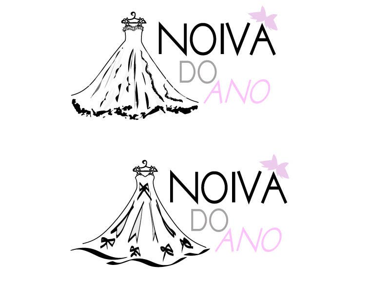 Contest Entry #                                        133                                      for                                         Logo Design for Noiva do ano (Bride of the year)