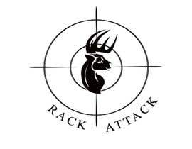 shaikhhassan tarafından I need a logo designed for  deer hunting scent killer.  The name of the scent killer is Rack Attack.  We need something eye catching to put on a label. için no 9