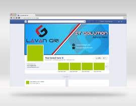 Nro 34 kilpailuun Design logo and facebook cover picture käyttäjältä LizaRani