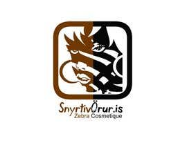 nº 148 pour Logo Design for Snyrtivorur.is (and Zebra Cosmetique) par habitualcreative