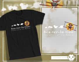 #34 for Beaver evolution t-shirt af adingph