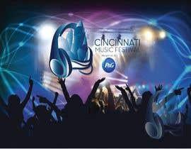 #84 cho Cincinnati Music Festival Backdrop bởi mariammichealdes