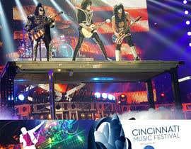 #108 cho Cincinnati Music Festival Backdrop bởi kbchoudhary76