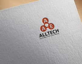 #16 for Business name- Alltech Automotive Electrical Colours prefered- Black White Orange Easily readable font with modern styling by Sagor4idea