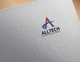 #17 for Business name- Alltech Automotive Electrical Colours prefered- Black White Orange Easily readable font with modern styling by Sagor4idea