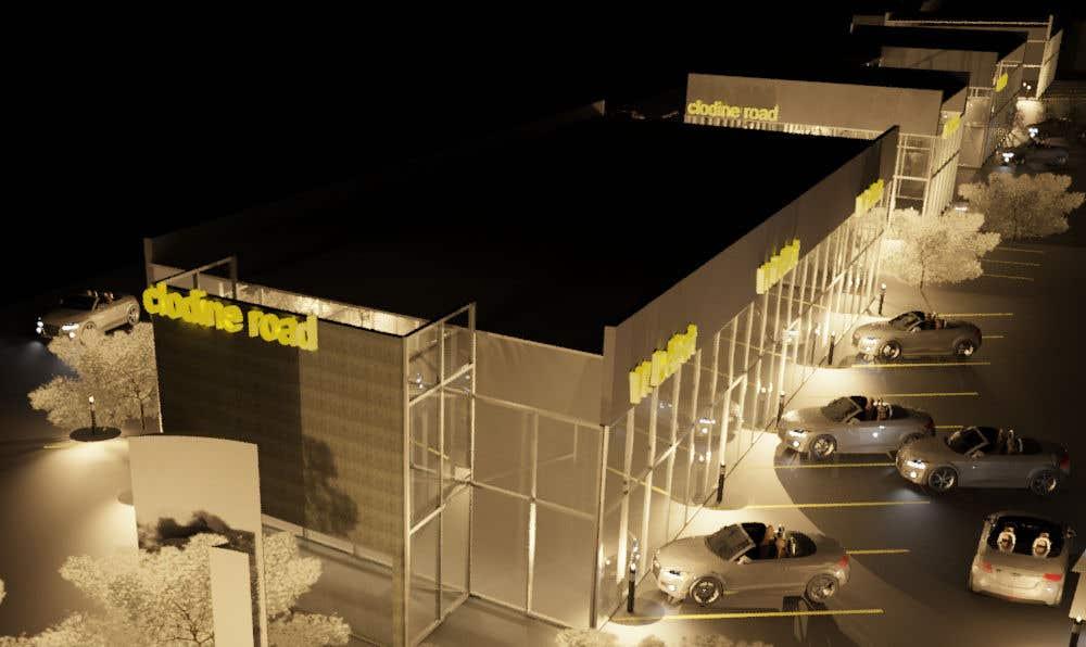 Participación en el concurso Nro.14 para Basic Site Plan Layout for a 2.5 acre commercial development - Retail and warehouse