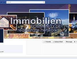 nº 1 pour Design a cool facebook timeline cover for a real estate network par ismail3692