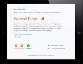 nº 16 pour Make a HTML email template par syrwebdevelopmen