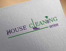 #313 para Logo design for house cleaning services por DesignInverter