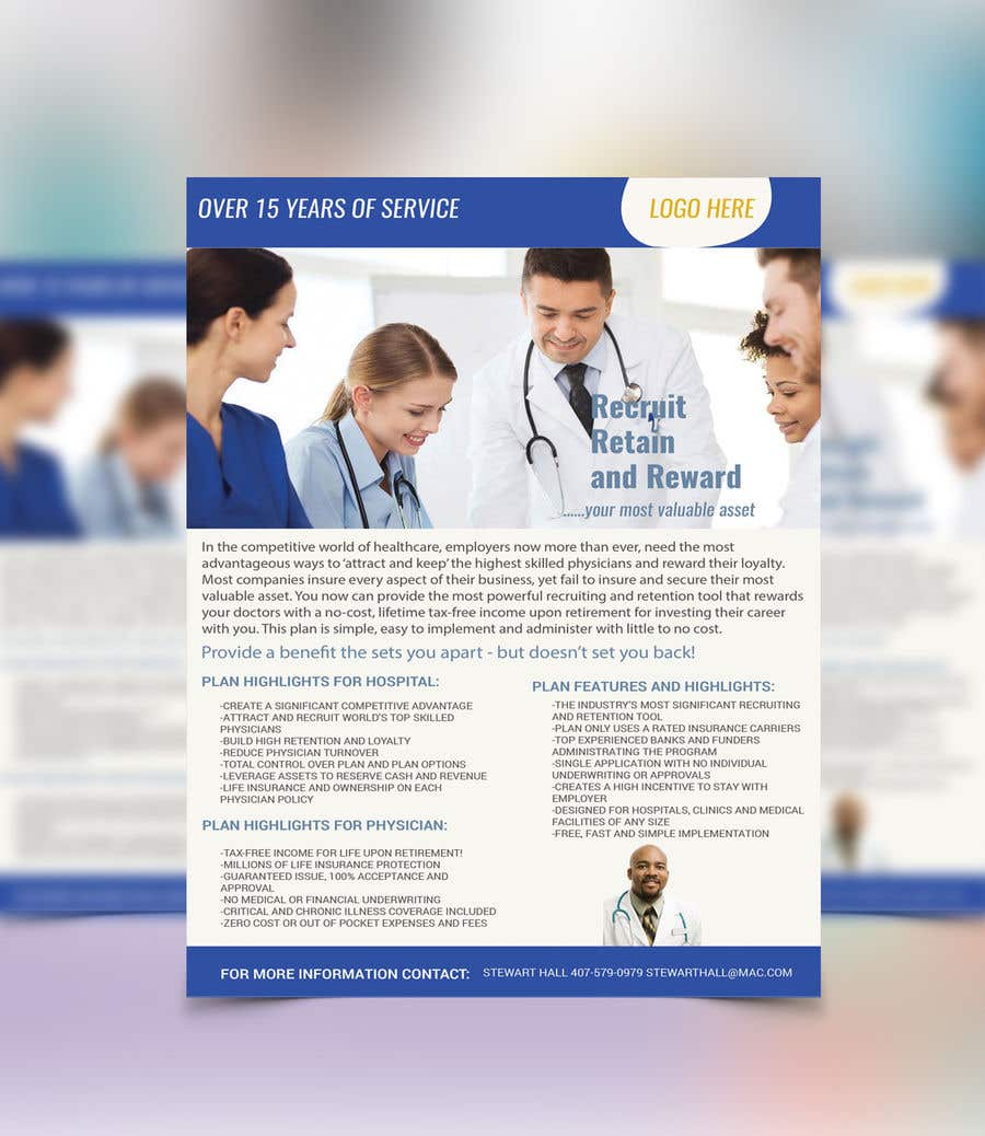 Penyertaan Peraduan #10 untuk Physician Flyer
