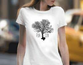 #120 untuk Texas Company T-Shirt Design of Pecan Tree oleh inplatinum