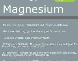 #7 for Design a hand out sheet on magnesium by Moonm22