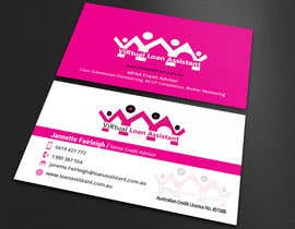 Monirjoy tarafından Logo kit  for ViRtual Loan Assistant - Logo- Business card design için no 106