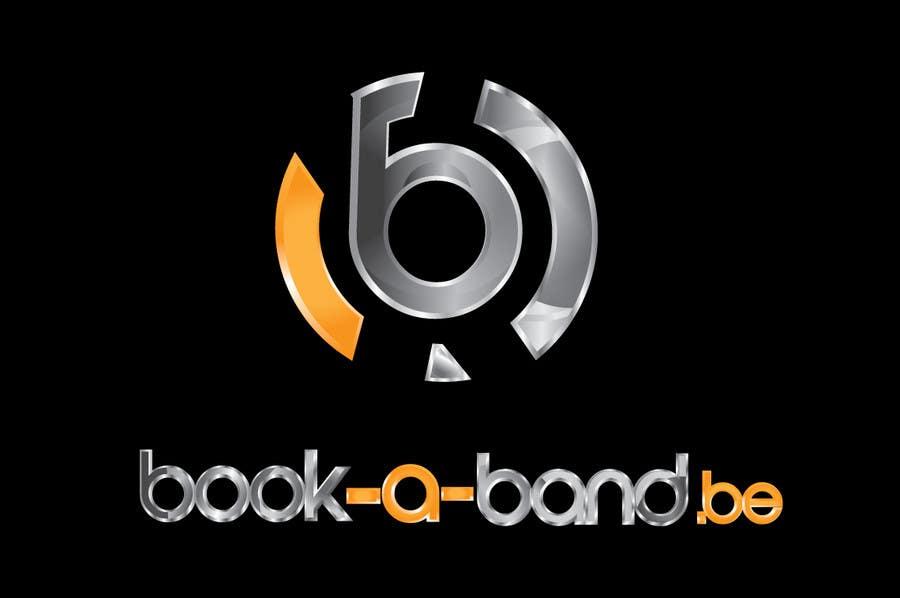 "Intrarea #275 pentru concursul ""Logo Design for book-a-band.be"""