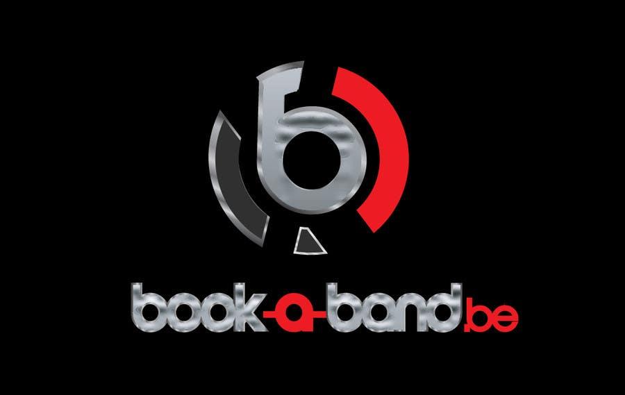 Kilpailutyö #311 kilpailussa Logo Design for book-a-band.be
