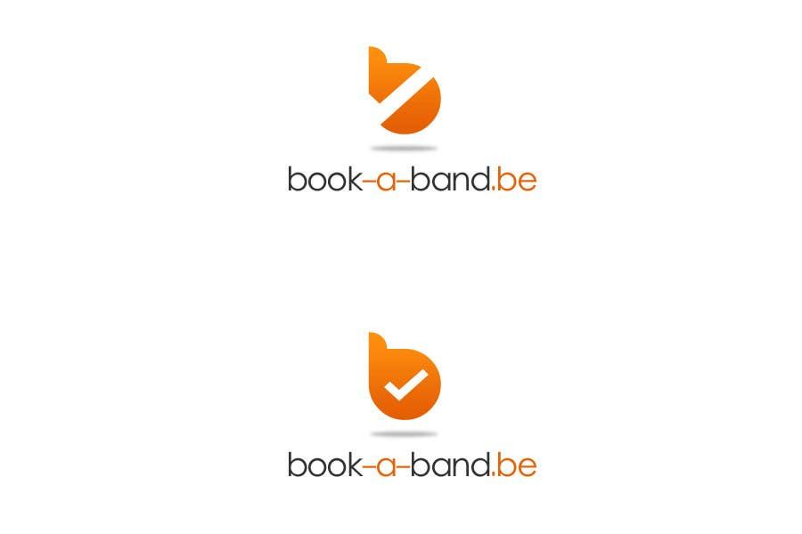 "Intrarea #43 pentru concursul ""Logo Design for book-a-band.be"""