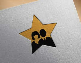 nº 56 pour Create simple logo of man & woman inside star par DesignInverter