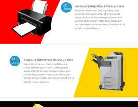 #19 para weekly email mail chimp page design por webfactar